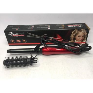 Плойка щипцы для волос PROGEMEI GM-2906 красный