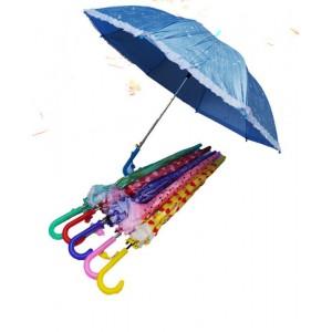 Зонт детский трость со свистком СЕРДЦА И ГОРОХИ 65 см