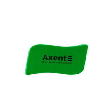 "Губка для доски ""Axent"" 9804-05 с магнитом зел."