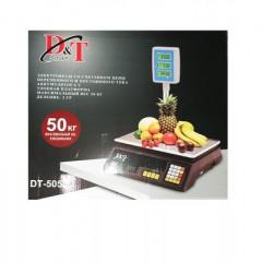 Весы торговые D&T DT-5053 Smart со стойкой 50кг