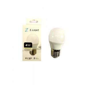 """Z-LIGHT LED Лампа """"шарик"""" G45 ZL 14504274 4w 4000k E27"""