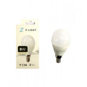 """Z-LIGHT LED Лампа """"шарик"""" G45 ZL 14508144 8w 4000k E14"""