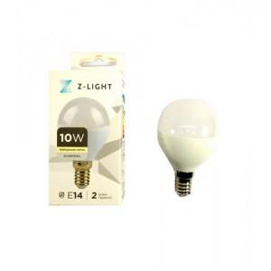 """Z-LIGHT LED Лампа """"шарик"""" G45 ZL 14510144 10w 4000k E14"""