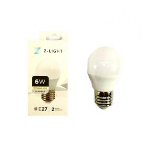 """Z-LIGHT LED Лампа """"шарик"""" G45 ZL 14506274 6w 4000k E27"""
