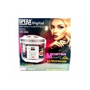 Мультиварка OPERA digital OD-266 6л 1500W