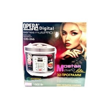 Мультиварка OPERA digital OD-266 4л 1500W