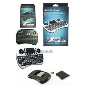 Беспроводная клавиатура Keyboard Backlit mini с тачпадом и подсветкой