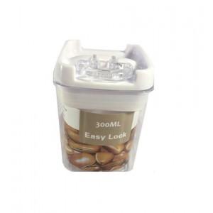 Контейнер для спецій easy lock, квадратний 300мл, 10*10*7cm