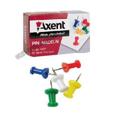 "Кнопки-гвоздик ""Axent"" 4203 (30шт)"