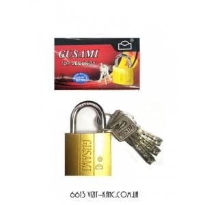Замок навесной GUSAM 32мм плоский ключ 12шт/уп