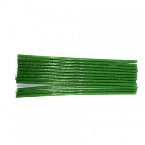 Клей для термопістолетів кольоровий з глітером 0,7 -30 Зелений