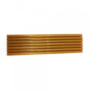 Клей для термопістолетів кольоровий з глітером 1,1-30 Золото