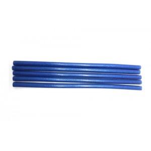 Клей для термопістолетів кольоровий з глітером 1,1-30 Синій