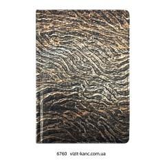 Щоденник напівдатований А5, клітинка, однокол.друк, 196арк, 2 кар, рос.мова, крем папір