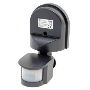Z-LIGHT Датчик движения накладной регулируемый  ZL 8001 ВК черный IP44