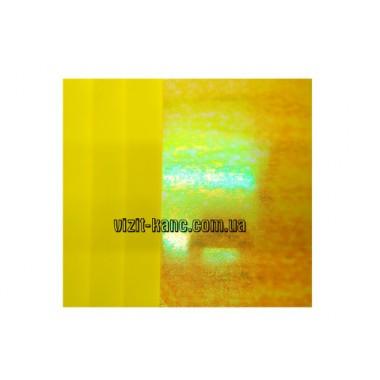 Фоамиран, EVA, 1,5 мм лазерний. 10 листов 20*30см Жовтий (ціна за 1шт.)
