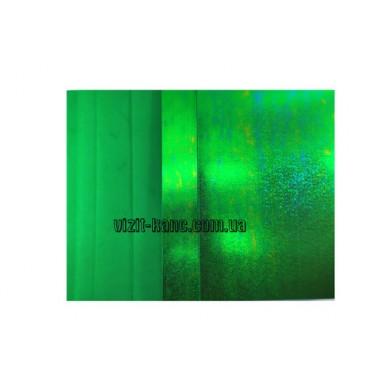 Фоамиран, EVA, 1,5 мм лазерний. 10 листов 20*30см Зелений (ціна за 1шт.)