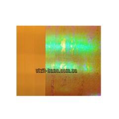 Фоамиран, EVA, 1,5 мм лазерний. 10 листов 20*30см Помаранчевий (ціна за 1шт.)