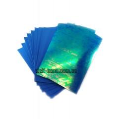 Фоамиран, EVA, 1,5 мм лазрний. 10 листов 20*30см Блакитний (ціна за 1шт.)