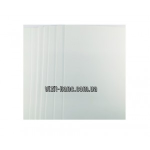 Фоаміран EVA вельветовий 20 * 30см, 2 мм, 10 листів в пачці. Білий (ціна за 1шт.)