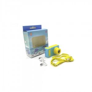 Цифровой детский фотоаппарат KIDS Camera KVR X-200 желто голубой