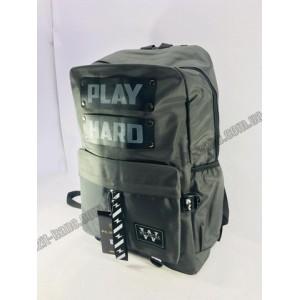 Рюкзак PlaY Hard тёмно-серый 41*38см.
