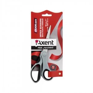 """Ножницы """"Axent"""" 18см 6301-01 сер.-черн."""