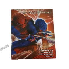 Гофрокартон кольор.метал.Spider-man A4(5арк/5кол) SM12-258К