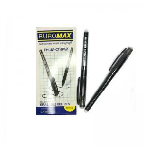 "Ручка гел. Buromax BM8301-02 ""Edit"" пиши-стирай (0.7) черн."