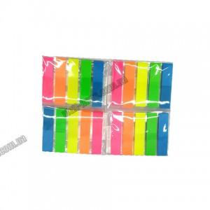 Закладка-розділювач для книг 5 кольорів по 20 арк