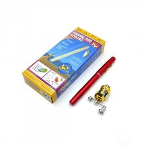 Карманная удочка в виде ручки Fishing Rod R187068 длина 0,9м толщина 1,5см. вес пойман рыбы до 2кг.