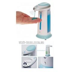 Сенсорный дозатор для мыла Magic Soap 300мл. 4 бат R3 цв. белый