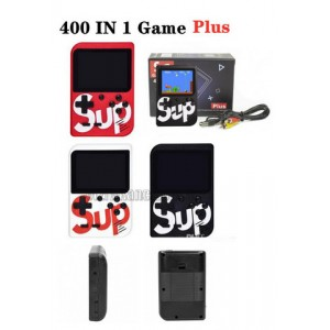 Приставка Retro FC SUP Game box 400игр Dendy (17см*16см кор.) цв. черн, красн, белый.