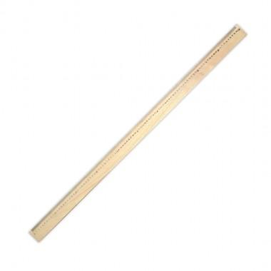 Лінійка дерев'яна (шовкографія) 1м