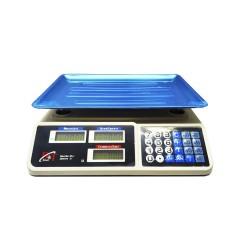 Весы торговые D&T-Smart DT-809 корпус пластик до 50кг 43*39*15cм цв. белый