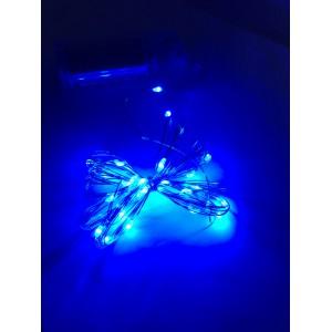Гирлянда на батарейках AAx2 3 м 30LED синий