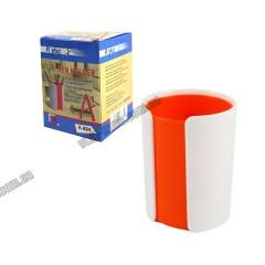Підставка для ручок пластикова ЯСКРАВІ КОЛЬОРИ 4 кольори