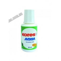 """Корректор-штрих  водн.осн. """"Kores"""" K69101 """"Aqua"""" 20мл"""