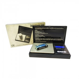 Весы ювелирные до 200гр. DIGITAL SCALE 2xAAA Professional-mini