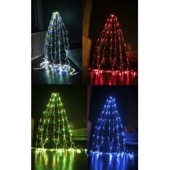 Гирлянда Водопад белый провод белая матовая круглая лампа 3 м Х 2,5 м 480LED мульти