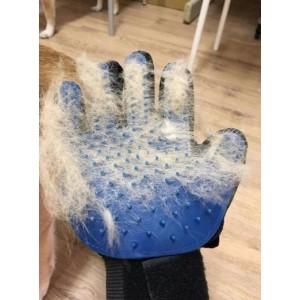 Перчатка для вычесывания шерсти животным TRUE TOUCH X4–04