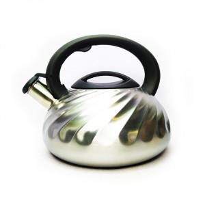 Чайник Rainberg RB-721 со свистком 3 л нержавеющая сталь