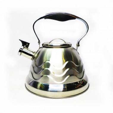 Чайник Rainberg RB-723 со свистком 3 л нержавеющая сталь