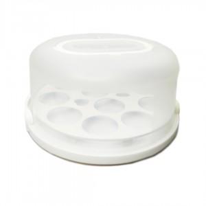Коробка для торта + форми для капкейков D30cm. h15cm.