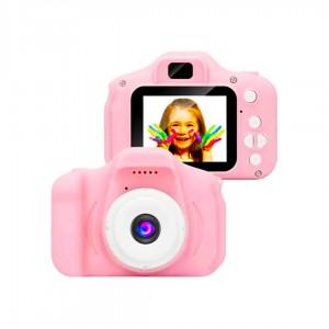 Фотоапарат  Видеокамера цифровая детская Summer Vacation розовый