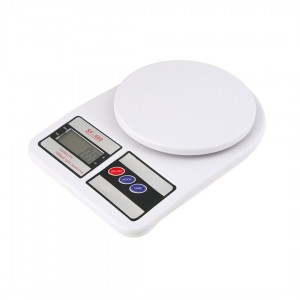 Весы кухонные Electronic Kitchen Scale SF-400 белые