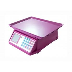 Весы торговые электронные до 50 кг со счетчиком цены NOKOSONIC NK4017 Фиолетовые