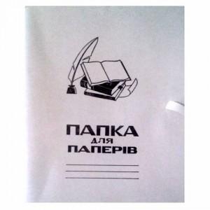 Папка картон на завязке для бумаги (плотная) (50)