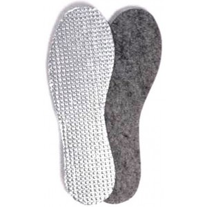 Стелька для обуви 45 размер Фольга