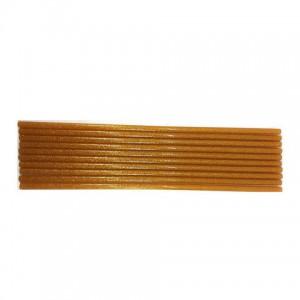 Клей для термопістолетів кольоровий з глітером 0,7 -30 Золотий